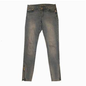 Michael Kors Jeans - Michael Kors Ankle Zip Skinny Jeans